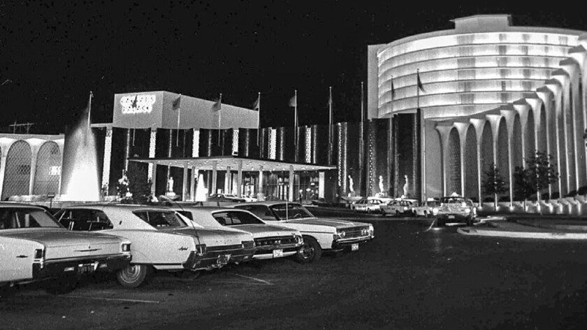The tradition of free valet and self-parking is disappearing in Sin City. Caesars Entertainment resorts, including Caesars Palace -- pictured in September 1966 -- will soon begin charging guests to park their vehicles.