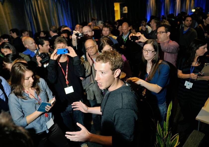 Silicon Valley leaders, including Facebook CEO Mark Zuckerberg, above, are becoming more engaged in the issues that directly affect their businesses.