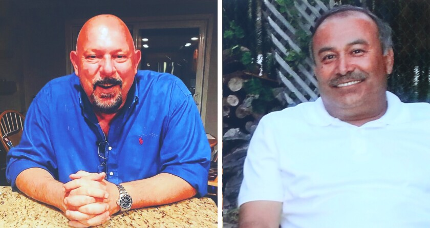 Two male court interpreters who died earlier this year.