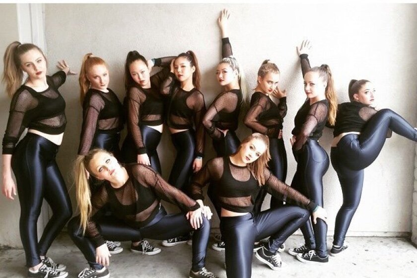 The Torrey Pines High School Varsity Small Hip-hop team won first place at regionals.