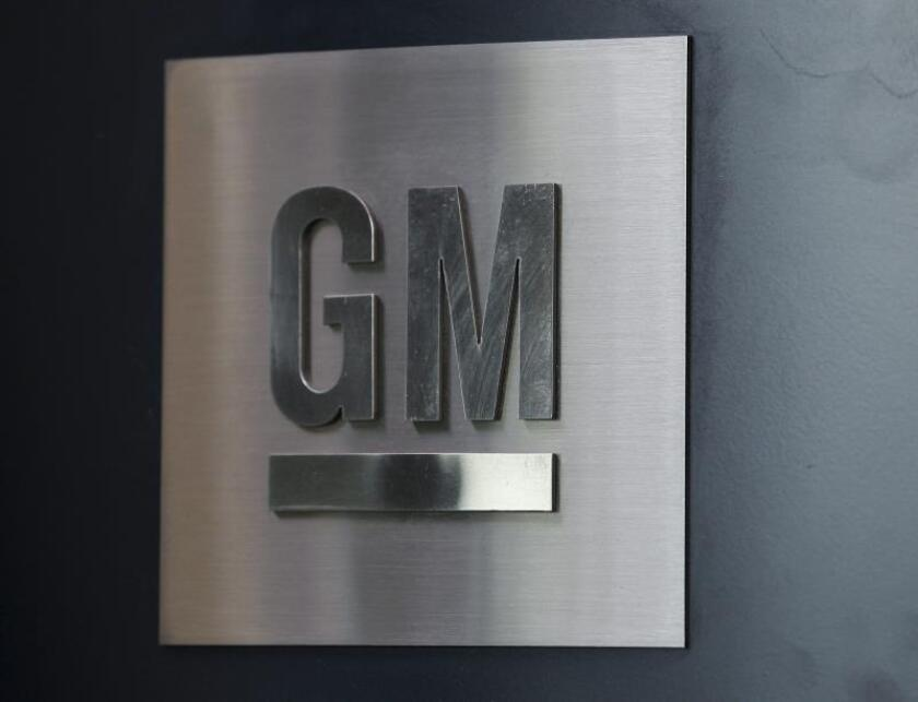 General Motors logo is displayed in their Global Headquarters at the Renaissance Center in Detroit, Michigan, USA. EPA/Jeff Kowalsky/File