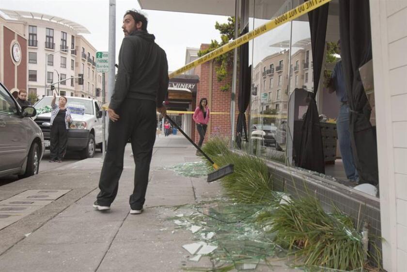 Un terremoto de magnitud 6,5 en la escala de Richter sacudió hoy California, informó el Centro Geológico de Estados Unidos (USGS). EFE/ARCHIVO