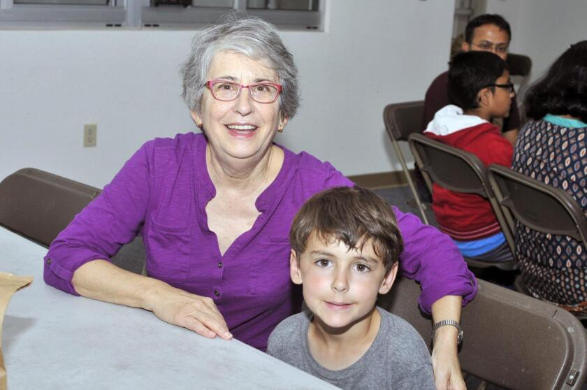 Susan Krems and grandson Ryder