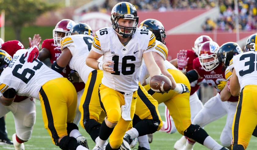 Iowa, Stanford make biggest moves in College Football Playoff ranking