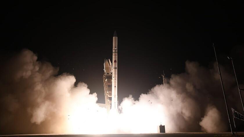 Israel's Ofek 16 reconnaissance satellite blasts off