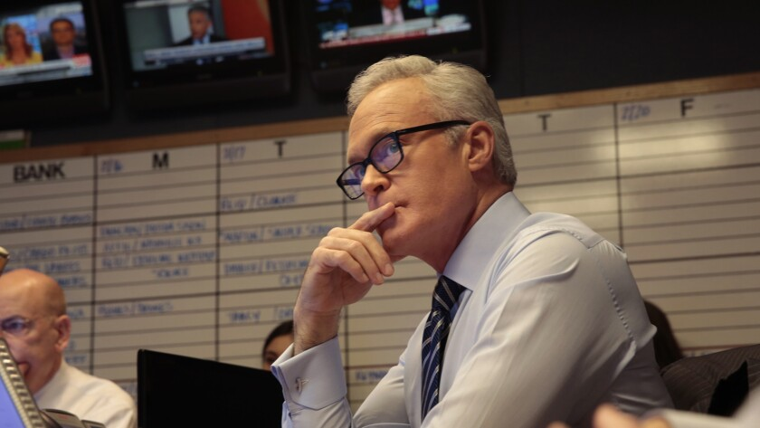 Scott Pelley says his complaints of hostile workplace led to