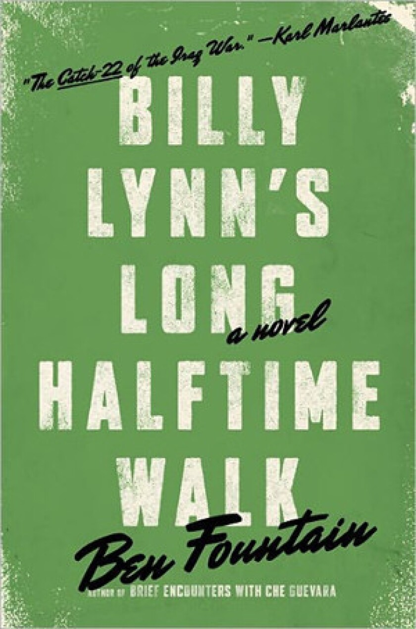 'Billy Lynn's Long Halftime Walk' by author Ben Fountain.