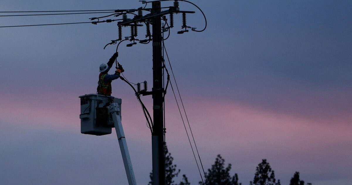 Where PG&E may shut off power