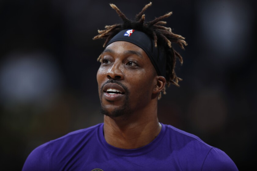 Lakers Howard Basketball