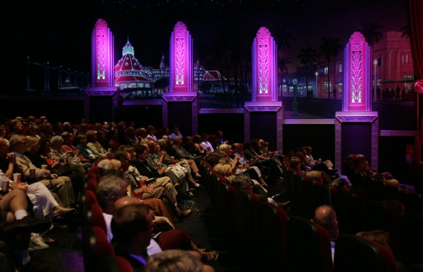 In 2011, a special VIP crowd awaited the first show since 2000 at the renovated Village Theatre in downtown Coronado.