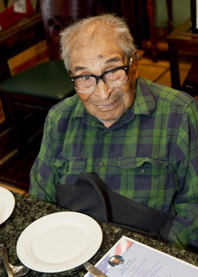 106th birthday celebration held in RSF for veteran Ray Chavez