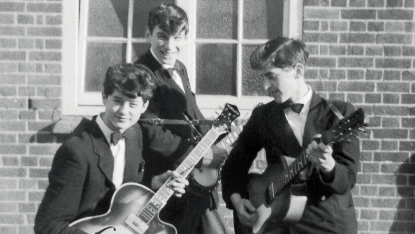 Jimmy Page with an early band