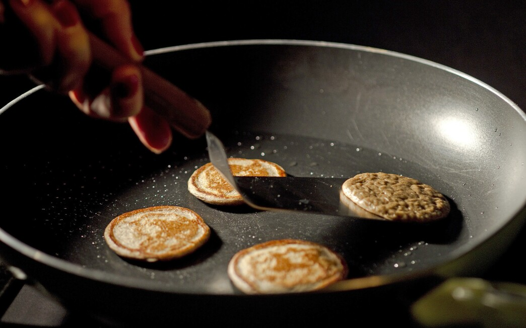 Ossetra caviar with buckwheat and buttermilk blinis