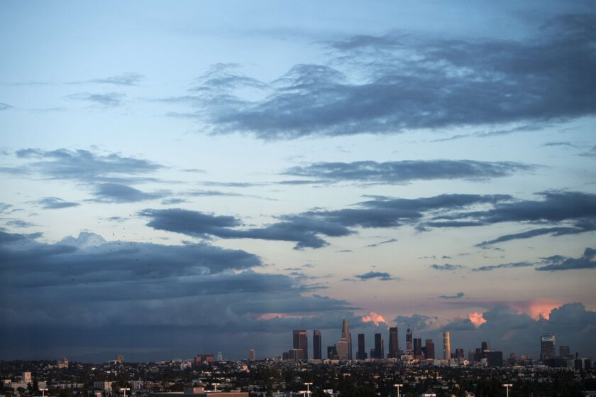 Los Angeles is hoping the coming rains expected from El Niño will help alleviate some of the damage of the drought.