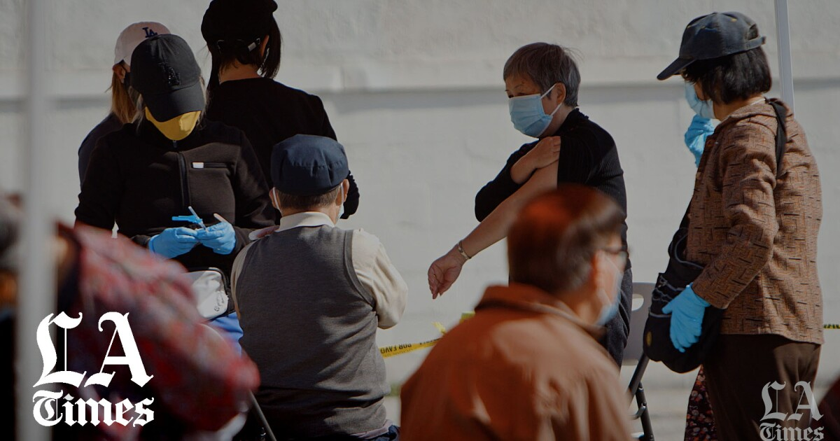 www.latimes.com: Not all Asian Americans are being vaccinated at high rates. A Chinatown clinic shows why