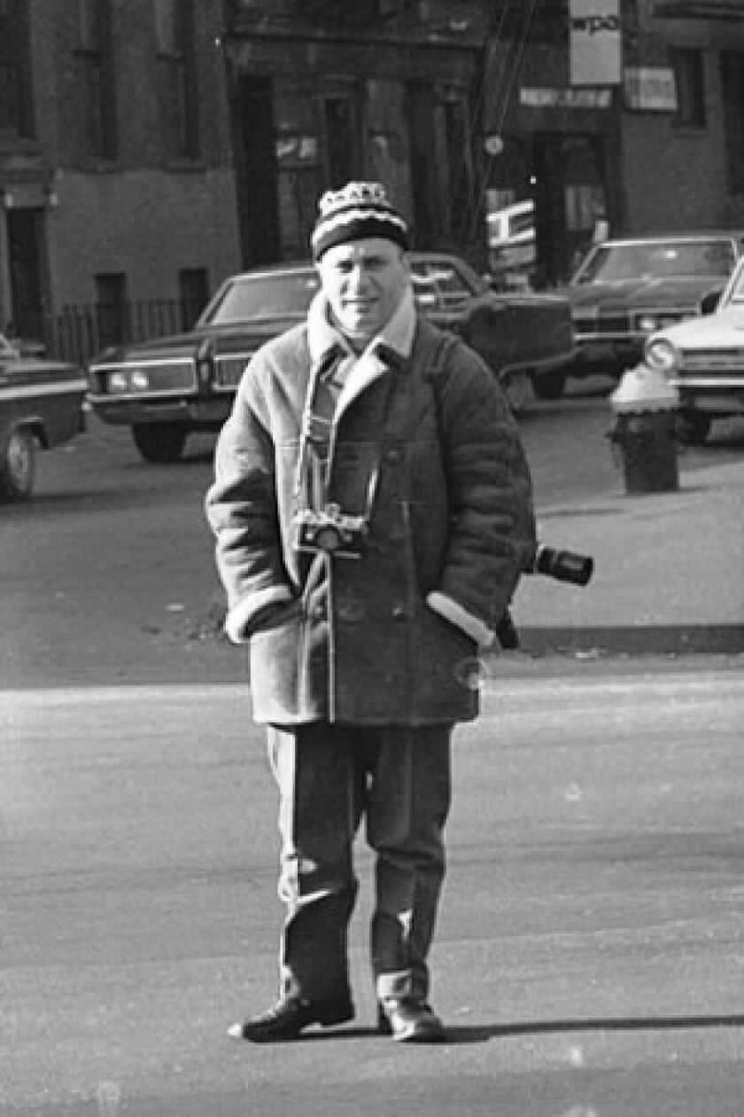 """Felice Quinto was probably the inspiration for the photographer Paparazzo in Federico Fellini's 1960 film """"La Dolce Vita."""""""