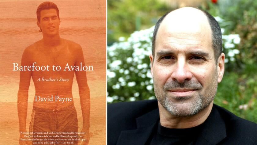 """""""Barefoot to Avalon"""" and author David Payne Mathieu Bourgois."""