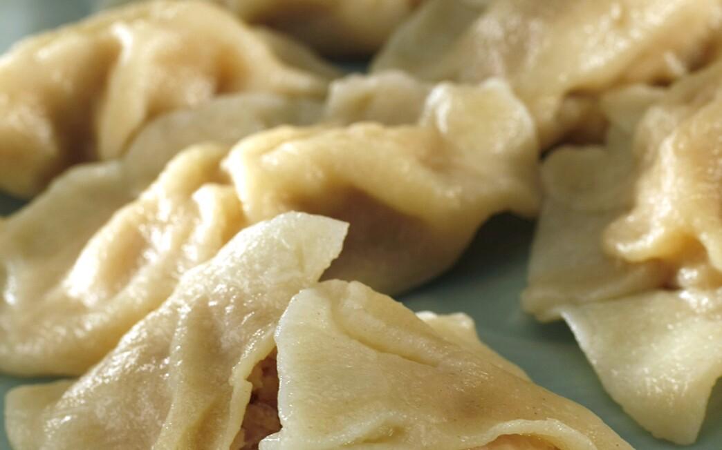 Beijing-style pork and cabbage dumplings