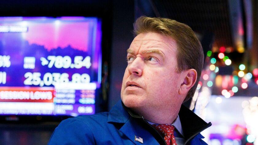 New York Stock Exchange, USA - 04 Dec 2018