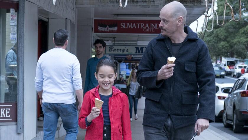 """Chika Yasumura and Scott Ryan in """"Mr. Inbetween"""" on FX."""