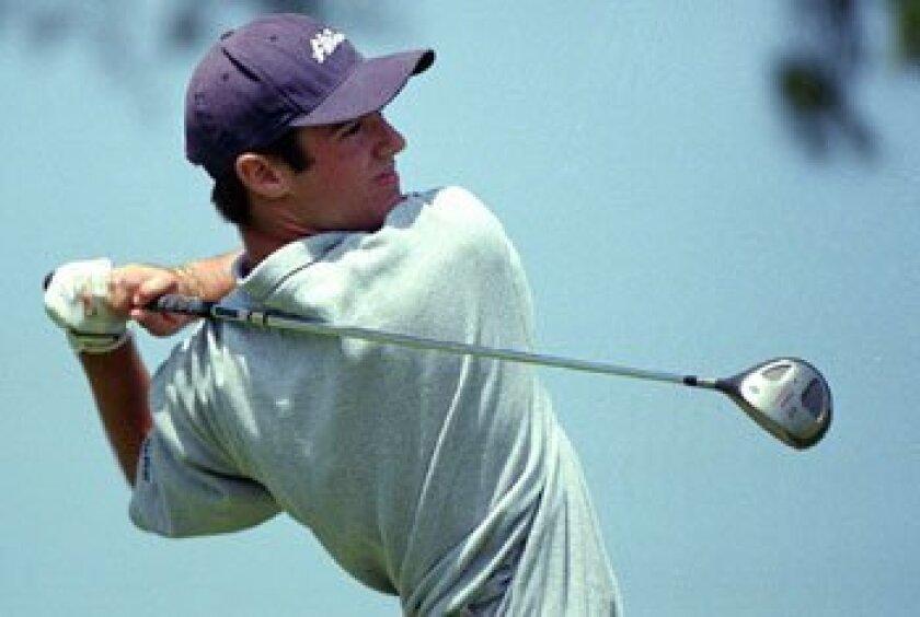 Trevor Immelman was 18 when he played at the 1998 Amateur Public Links Championship in Torrey Pines. John R. McCutchen/Union-Tribune