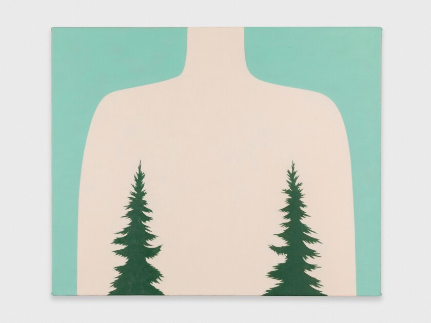 """""""Dress"""" by Alice Tippit, 2019. Oil on canvas, 18 inches by 22 inches"""