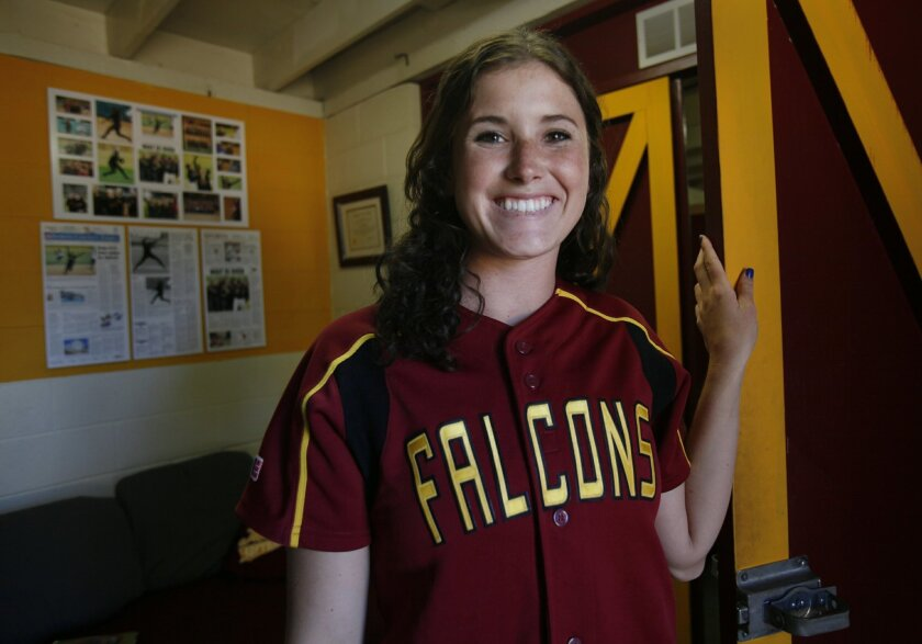 Pitcher Rachel Nasland led Torrey Pines to its first San Diego Section softball championship last season.
