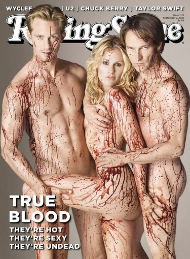 Rolling Stone: 'True Blood' stars' bloody Ménage à trois