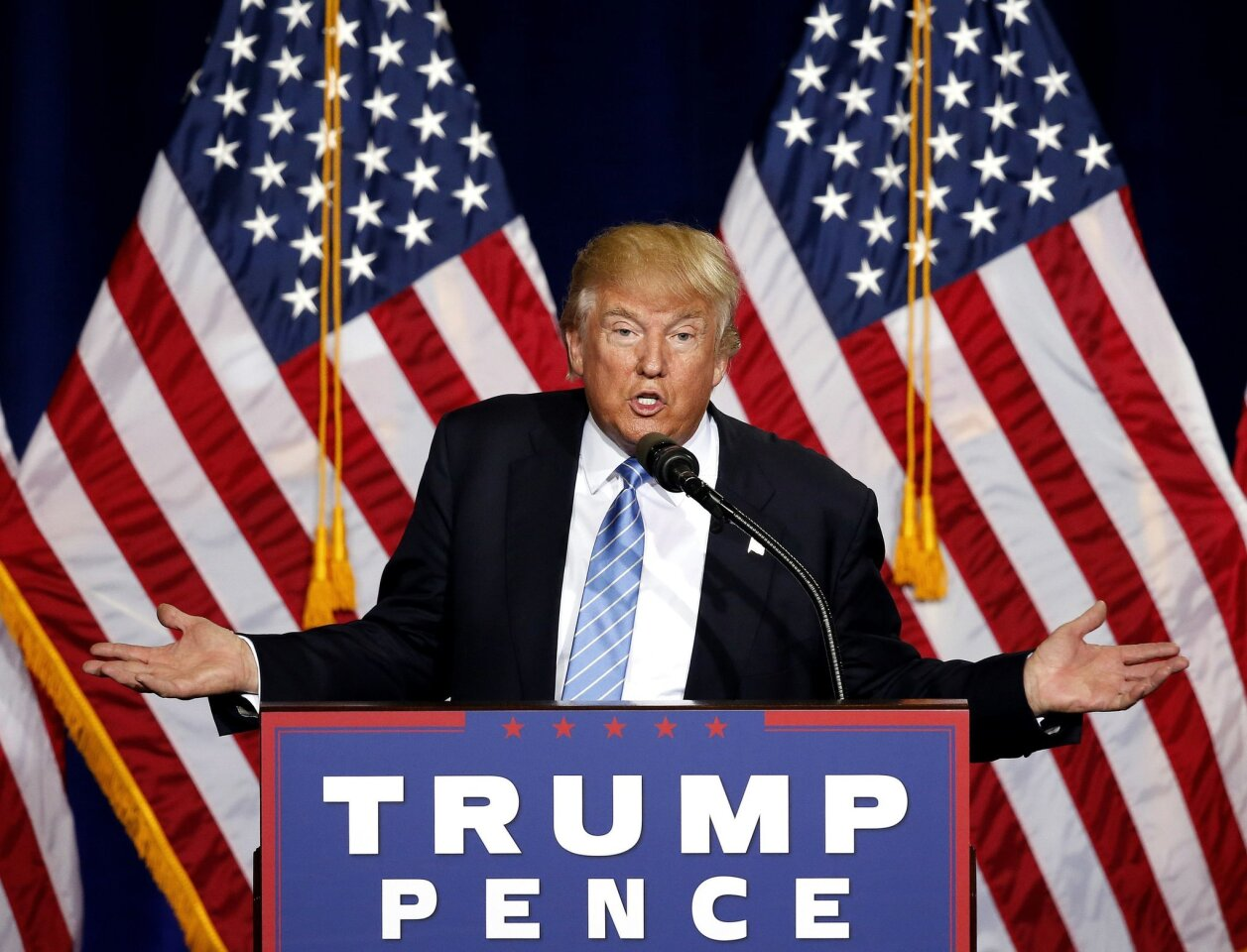 Donald Trump's immigration speech