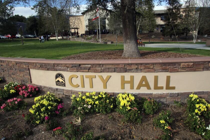 La Cañada Flintridge City Hall