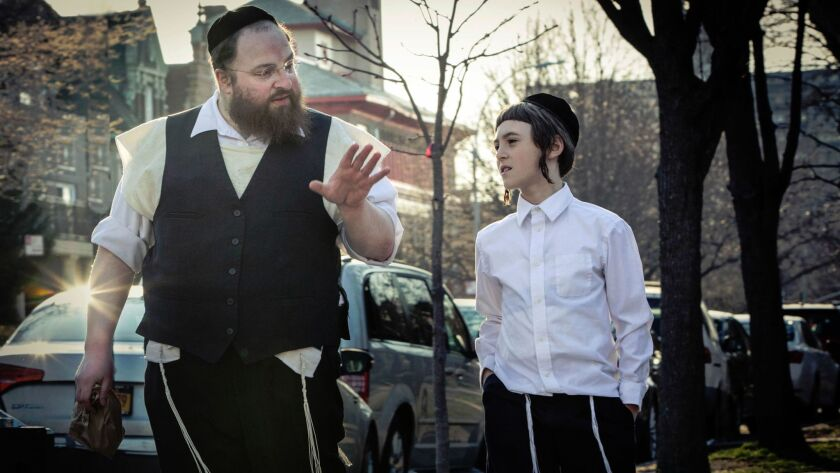 """Menashe Lustig and Ruben Nyborg appear in """"Menashe"""" by Joshua Weinstein, an official selection of the NEXT program at the 2017 Sundance Film Festival. Courtesy of Sundance Institute."""