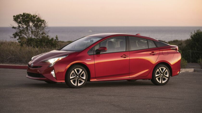 Toyota recalls 1 million Prius and C-HR hybrids because of