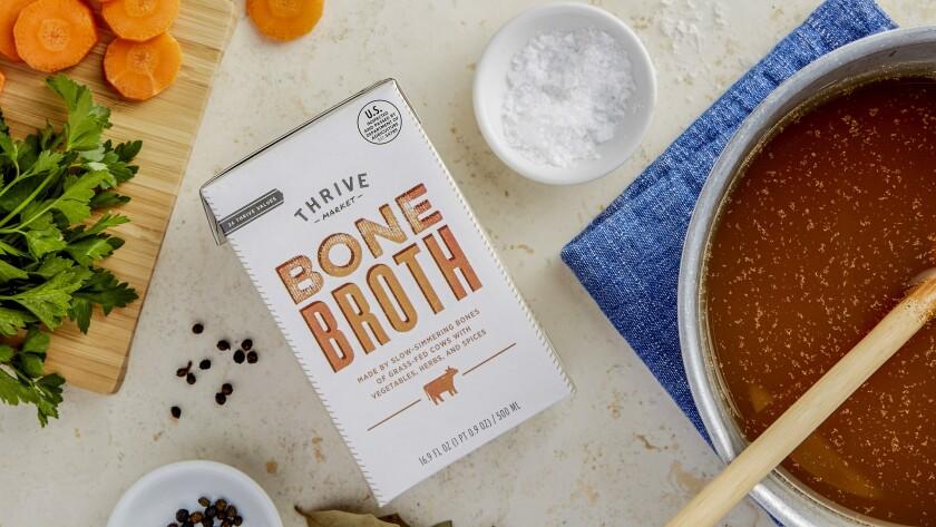 Bone broth for collagen