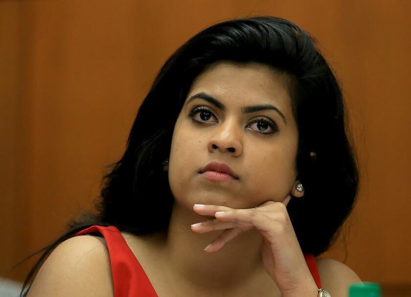 Rini Sampath, USC student body president