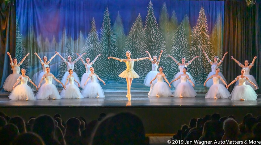 "San Diego Civic Youth Ballet performing excerpts from ""The Nutcracker"""