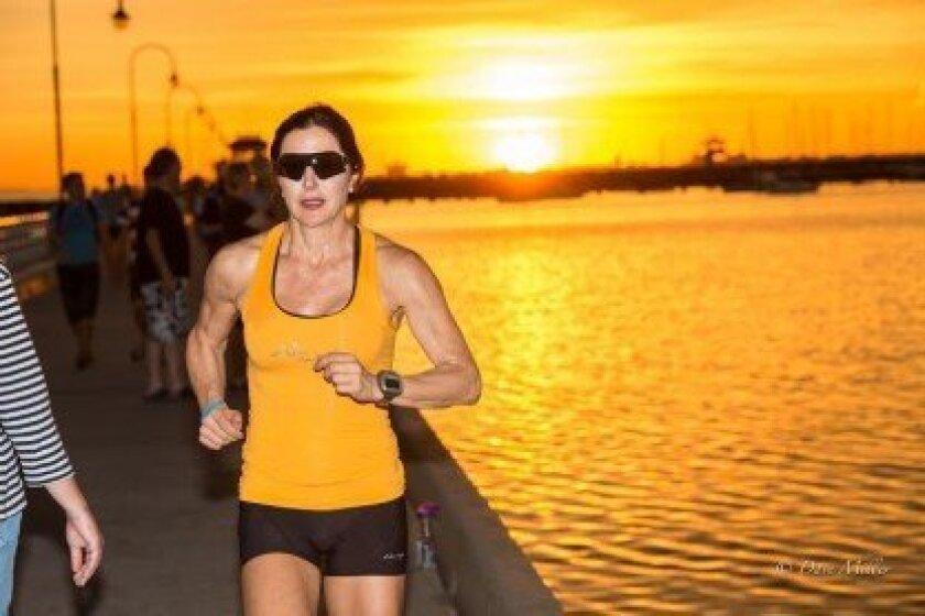 Carmel Valley Ironman triathlete Andi Neugarten: 'I love what I'm doing every single day.' Courtesy photo