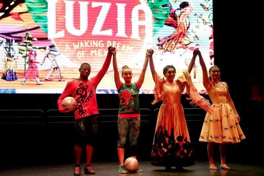 """La cultura, la historia y las tradiciones de México sientan la base artística de """"Luzia"""", un espectáculo de la prestigiosa y mundialmente conocida compañía Cirque du Soleil que, a partir de esta semana, se representará en Los Ángeles. EFE/ARCHIVO"""