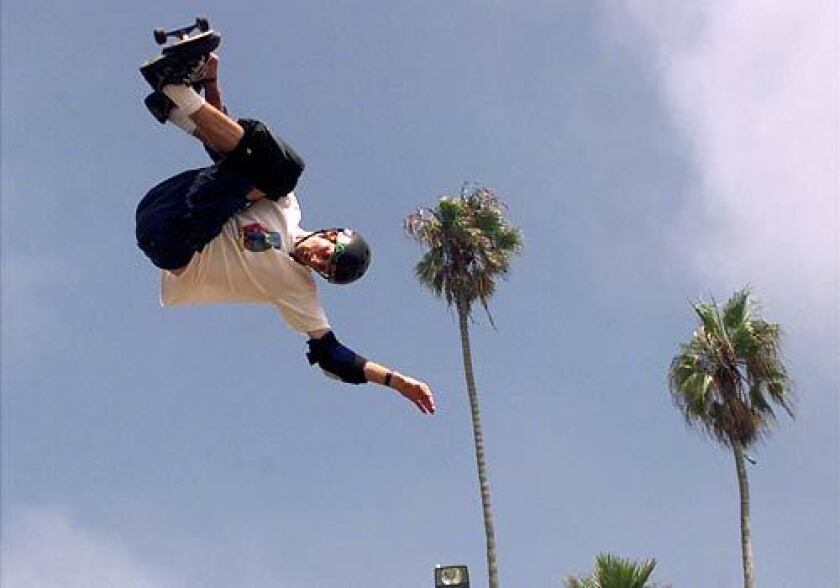 Tony Hawk's exploits on a skateboard have made him a superstar in a sport that was unknown just decades earlier.