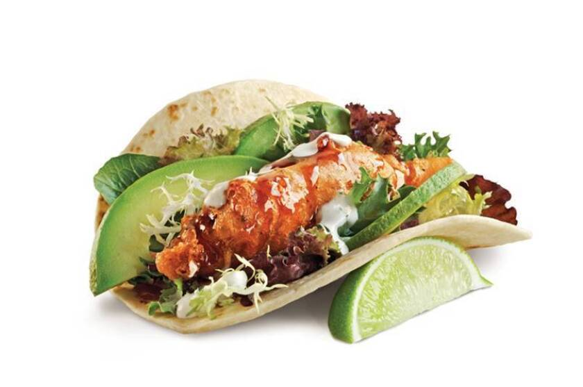 Rubio's new Sesame Soy Fish Taco. The chain's founder Ralph Rubio is looking toward healthful, premium and sustainable options.