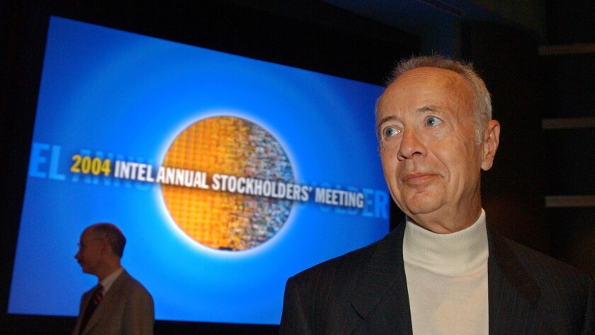 In 1997, Time magazine named Intel Corp. co-founder Andy Grove its Man of the Year.