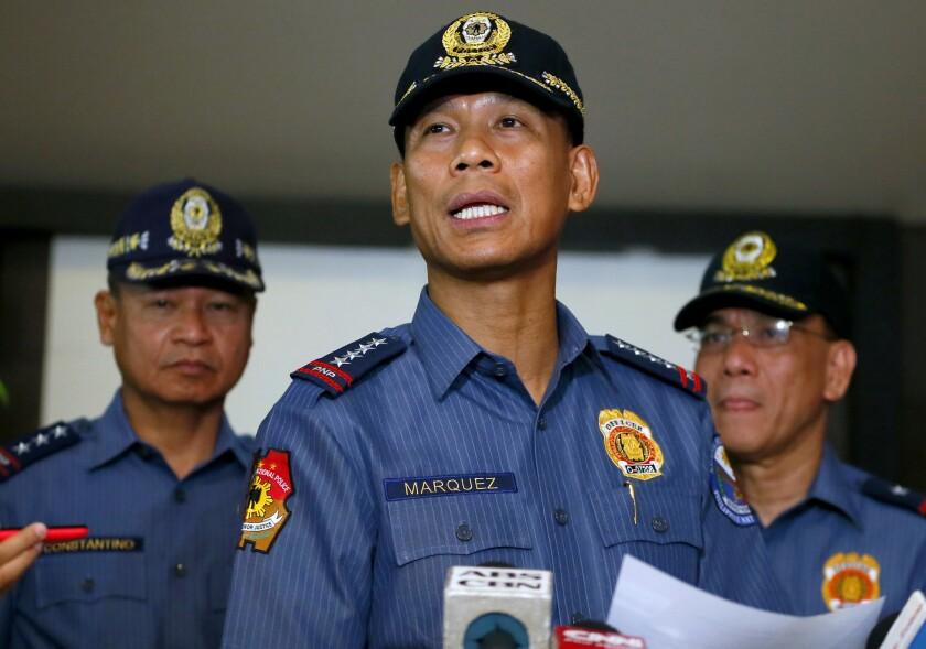Philippines manhunt