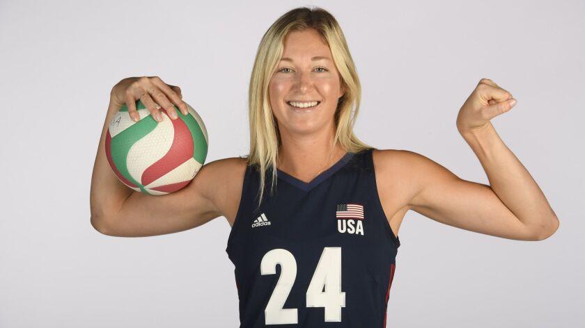 Karsta Lowe, a La Costa Canyon High School grad, will represent USA Volleyball in Japan.