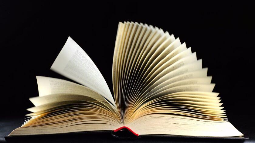 Full open book