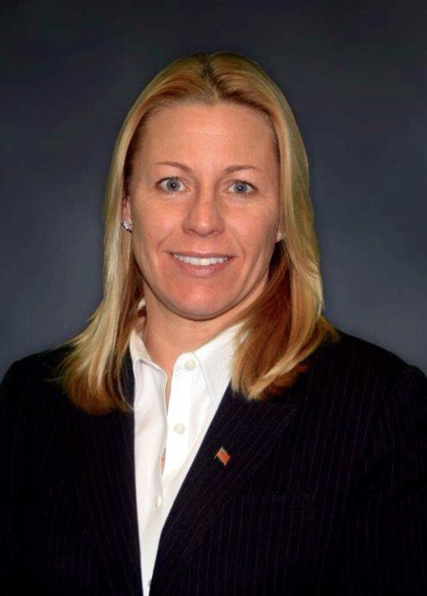 Jacquie Atkinson, a Marine vet who likely will run against Scott Peters. Courtesy photo