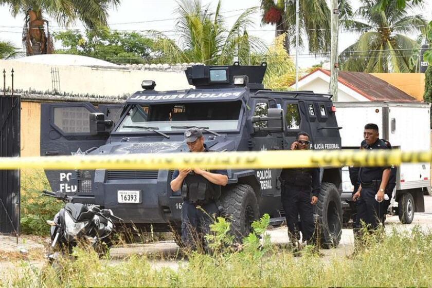 El número de asesinatos en México ascendió a 33.341 víctimas en 2018, un 15,5 % más que en 2017, lo que convirtió el pasado año en el más mortífero desde que se tiene registro, según datos de la Secretaría de Seguridad y Protección Ciudadana (SSPC). EFE/Archivo