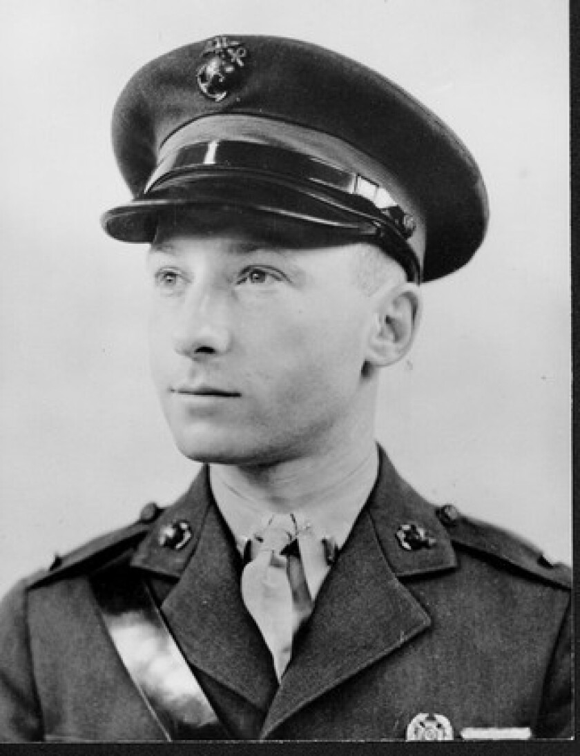 Victor Krulak, shown in 1935, won the Navy Cross in World War II and retired as a lieutenant general in the Marines. He also wrote a history of the Marines.