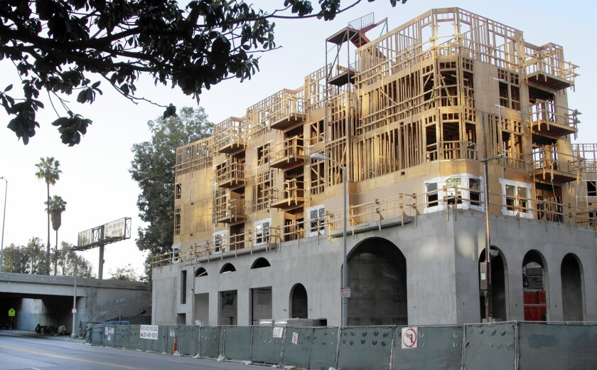 The Da Vinci apartment project in L.A.