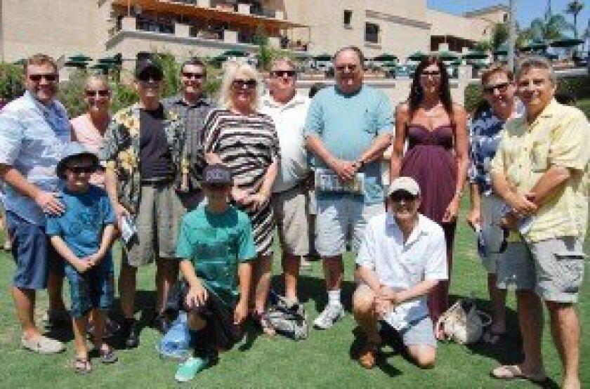 Members of the La Vida Loca Racing Stable