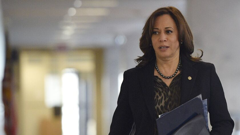 Harassment And Retaliation Claims During Kamala Harris Time As California S Top Cop Led To 1 1 Million In Settlements Los Angeles Times