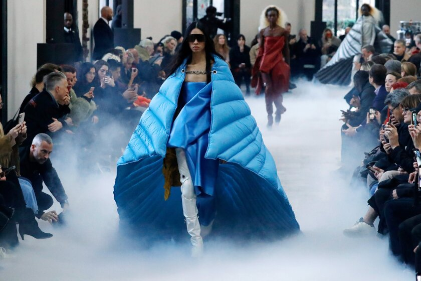 Paris Fashion Week Makes It Official You Need A Cape For Fall 2020 Los Angeles Times